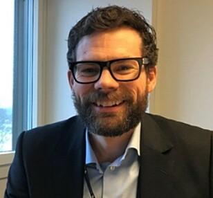 Bjørn Bjune, prosjektsjef i Sporveien Trikken. Foto: Sporveien