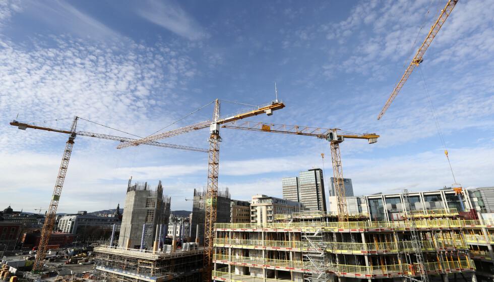 BOLIG: Kampen mot skatt på bolig ser ut til å bli en kampsak for Oslo Høyre, skriver artikkelforfatteren. Foto: Vidar Ruud / NTB scanpix