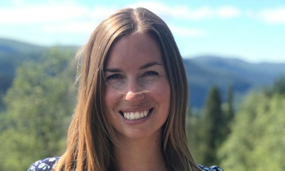 UFRIVILLIG BARNLØS: Elise Solbu Roalsø ønsker seg barn, og er kritisk til hvordan ekspertene snakker om ufrivillig stress rundt å bli gravid. Foto: Privat