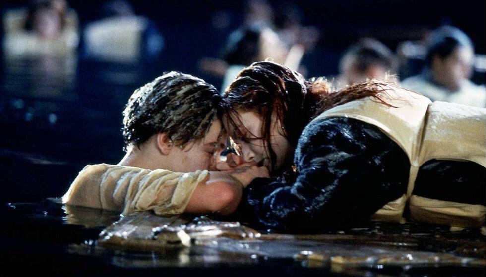 <strong>OMDISKUTERT:</strong> «Titanic» knuste hjerter verden over med sin berømte sluttscene. Foto: NTB Scanpix