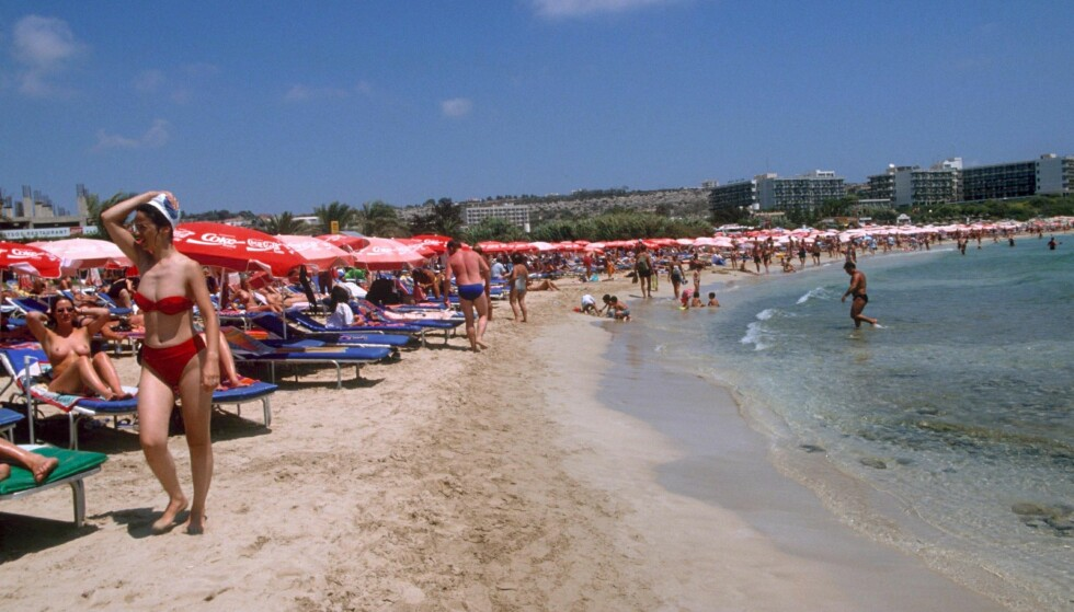 AYIA NAPA: Tolv israelske menn er pågrepet og mistenkt for å ha gruppevoldtatt en 19 år gammel kvinnelig turist i Ayia Napa. Foto: NTB Scanpix