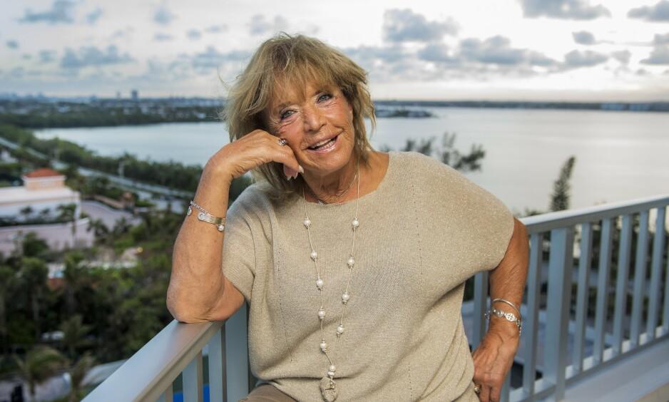 HUSKES: Lill-Babs var en av Sveriges mest folkekjære artister. I starten av april i fjor sovnet hun inn, 80 år gammel. Nå forteller dattera om den siste stunden med henne. Dette bildet ble tatt på Palm Beach i 2017. Foto: Aller Media SE / Suvad Mrkonjic
