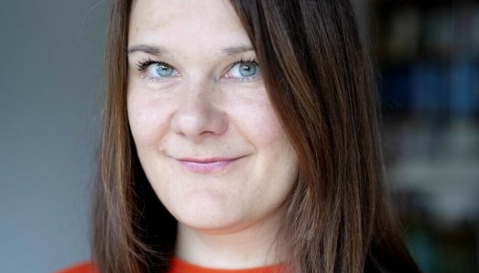 GJØR SUKSESS: «Voksne mennesker» er Marie Aubert andre bok. Den er solgt til Sverige, Danmark og Tyskland allerede før utgivelsen i Norge. Foto: Agnete Brun