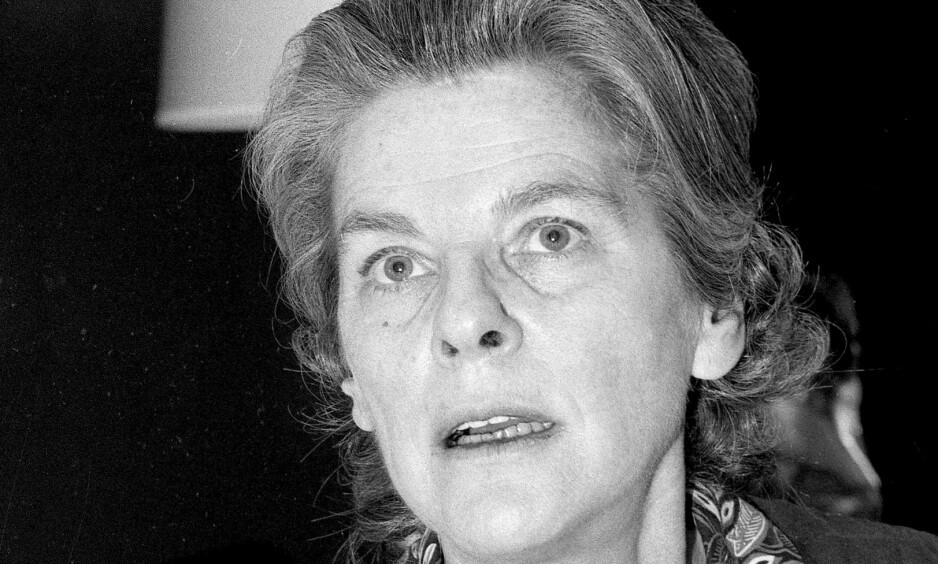BERØMT: Mary Therese McCarthy (1912–1989) var en amerikansk forfatter, kritiker og politisk aktivist. Foto: NTB Scanpix