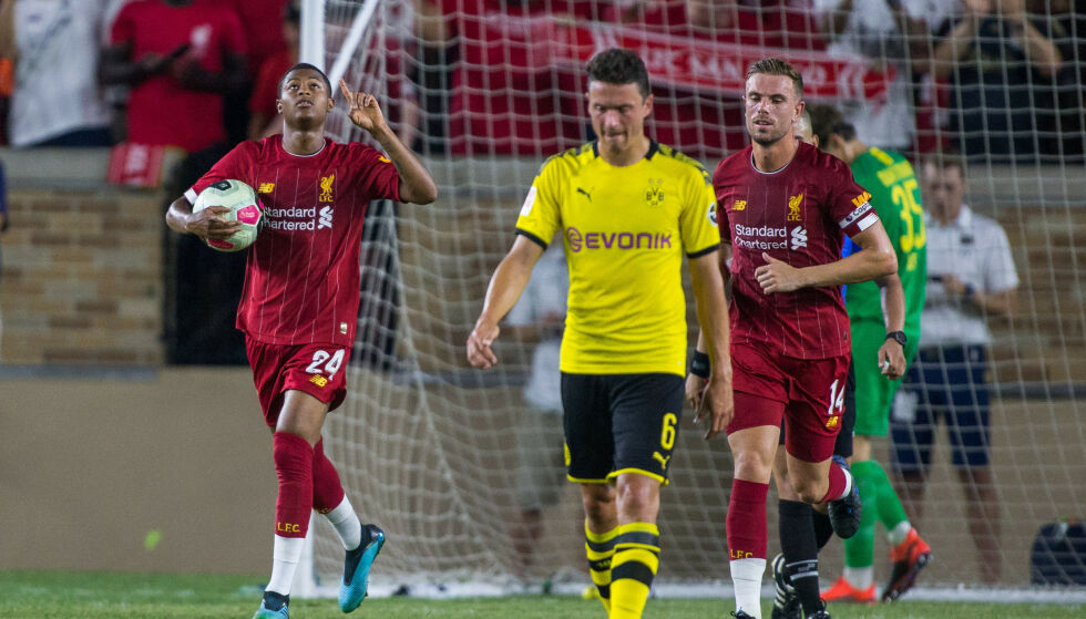 TAP: Liverpool og Jürgen Klopp røk på et 2-3-tap for hans gamle klubb Borussia Dortmund i en treningskamp i USA fredag. Foto: NTB Scanpix