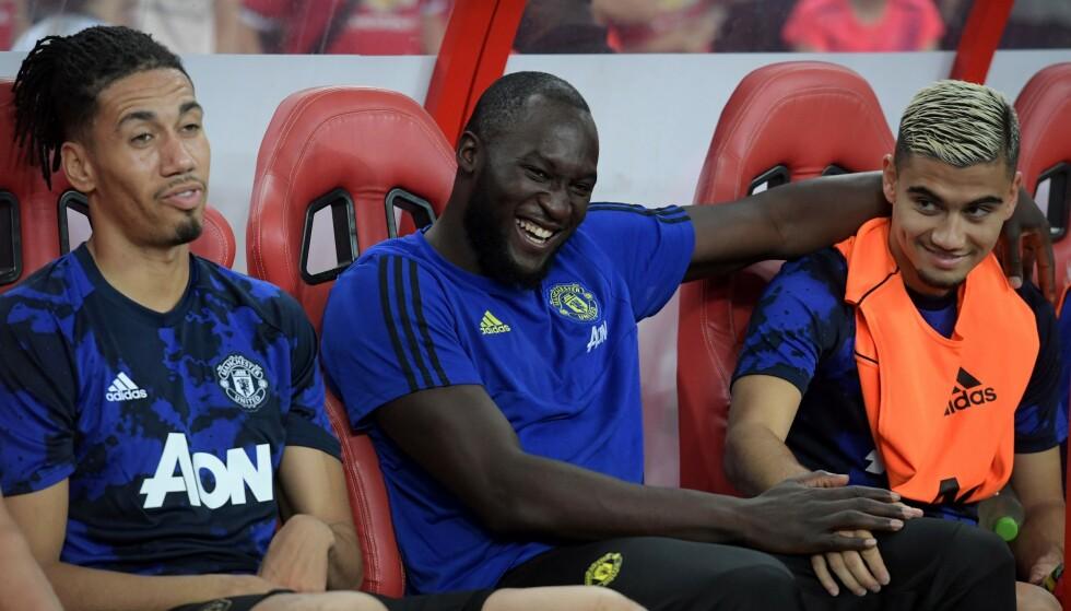 PÅ VEI BORT: Romelu Lukakus tid i Manchester United virker å være over. Inter og Juventus skal være de mest interesserte i belgieren. Foto: Roslan RAHMAN / AFP / NTB Scanpix