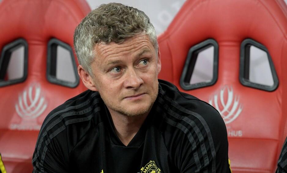 FØLGES MED ARGUSØYNE: Ole Gunnar Solskjær får stor oppmerksomhet for jobben i Manchester United. Verre er det med de andre nordmennene i Premier League. Foto: NTB scanpix