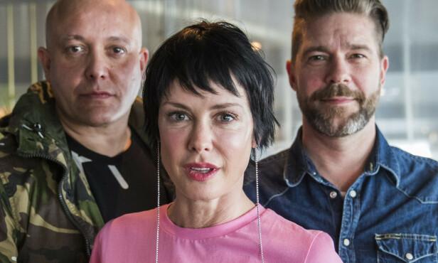 EKSER: Lene Nystrøm har tidligere vært sammen både René Dif og Søren Rasted. Det spøkte hun nylig med selv. Foto: NTB Scanpix