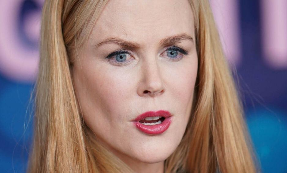IKKE REDD FOR Å SI FRA: Skuespiller Nicole Kidman stilte nylig i et radiointervju - der spørsmålene hun fikk etter alt å dømme ble litt for intime. Foto: NTB Scanpix