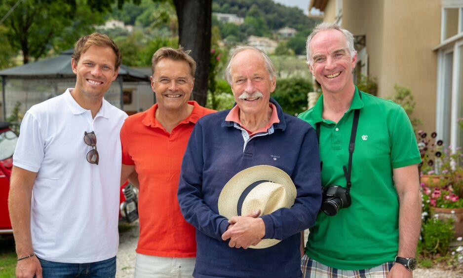 TV-PROFILER: Thor Hushovd, Dag Otto Lauritzen, Johan Kaggestad og Christian Paasche er mye på TV-skjermen fra TV 2s Tour de France-sendinger. Foto: NTB Scanpix