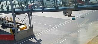 Koffert lå henslengt på Gardermoen: - Skammelig