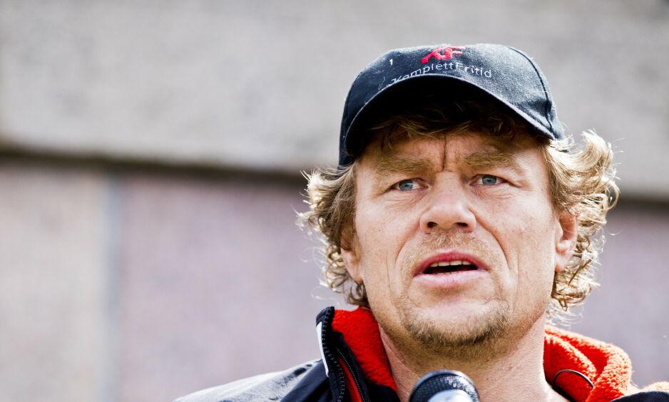 RASER: Lars Monsen kaster seg inn i vindmølledebatten og kritiserer alle som ønsker flere vindmøller. Foto: Vegard Grøtt / NTB scanpix