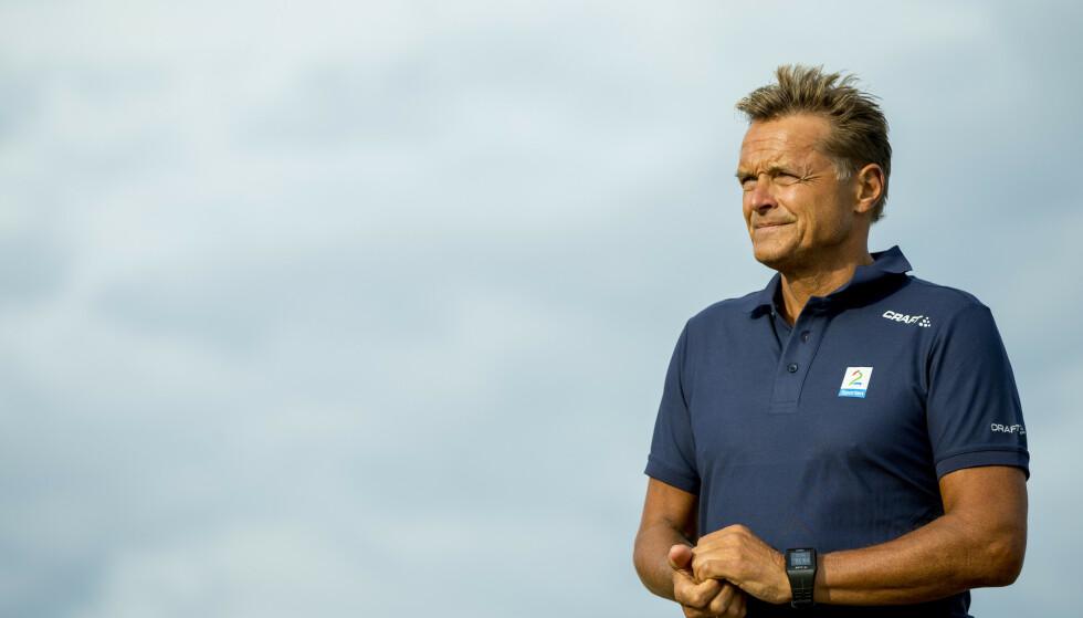 SKJELVEN: Dag Otto Lauritzen var skjelven da han havnet midt i jordras-dramaet i Tour de France. Nå hylles han. Foto: Vegard Wivestad Grøtt / NTB scanpix