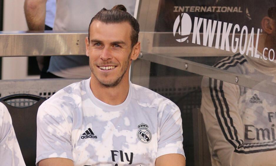 MILLIONGLIS: Gareth Bale får en monsterlønn når han bytter ut Real Madrid med kinesisk fotball denne sommeren. Foto: Brad Penner-USA TODAY Sports