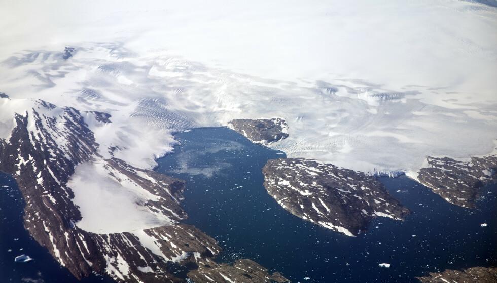 Hetebølgen fra Europa er på vei til Grønland. Det bekymrer FN. Foto: David Goldman / AP / NTB Scanpix.