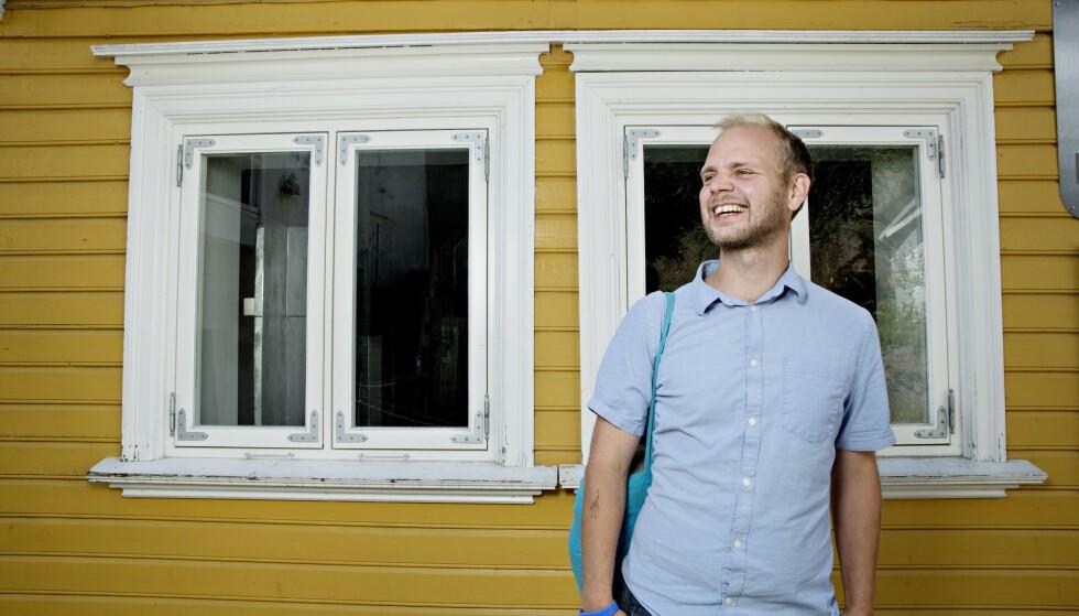 HJEMMEKJÆR: Mímir Kristjánsson driver valgkamp i Stavanger. På nyåret blir han å se i «Farmen kjendis» på TV2.