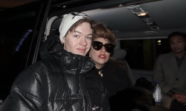 MØTTE GAGA: Magnus Opsahl Hofseth møtte Lady Gaga i Oslo i 2012. - En dag jeg kommer til å huske for resten av livet, sier han om stjernemøtet. Foto: Privat