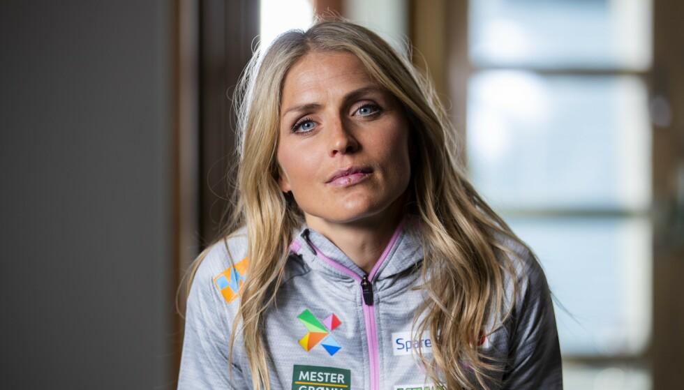 STJERNE: Therese Johaug skal løpe friidretts-NM til helga. Foto: Håkon Mosvold Larsen / NTB scanpix