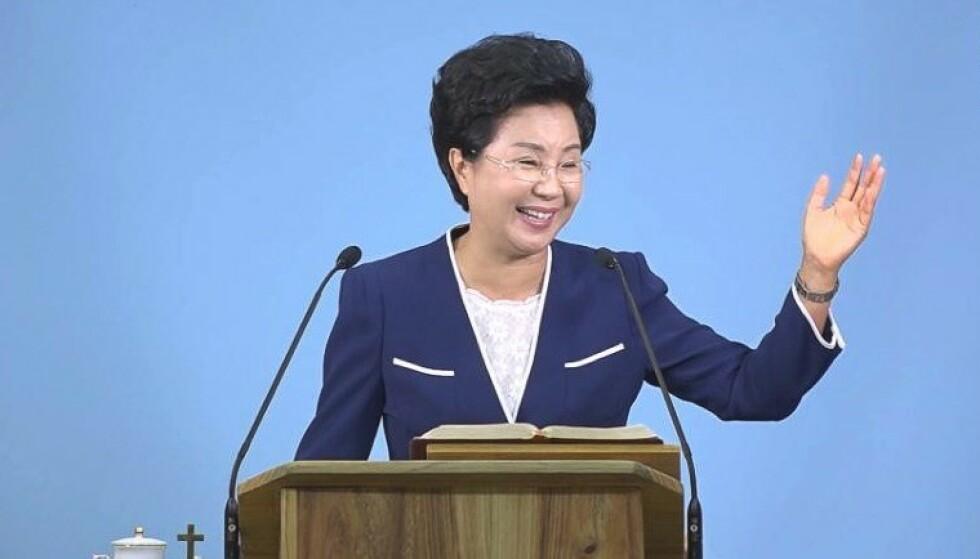 <strong>DØMT:</strong> Shin Ok-ju ble dømt til seks års fengsel denne uka. Foto: Grace Road Church