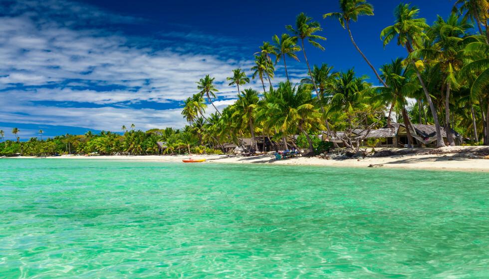 <strong>PARADIS:</strong> For de fleste framstår Fiji som et paradis. Men for Shin Ok-jus følgere ble det tortur. Foto: Martin Valigursky/Shutterstock/NTB Scanpix