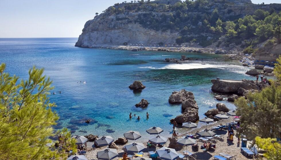 DRUKNET: To franske søstre druknet i et svømmebasseng på den greske ferieøya Rhodos. Foto: imageBroker / Rex / Scanpix