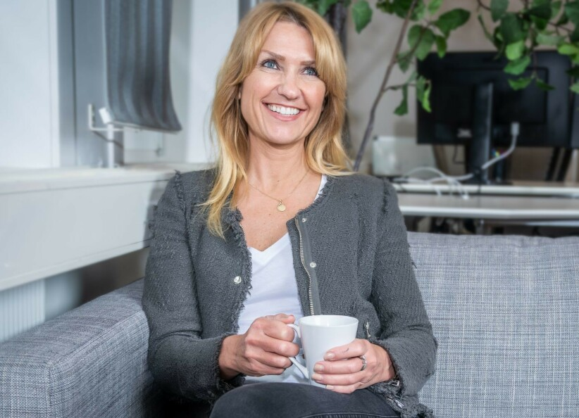 GLAD GRÜNDER: Cecilie Nordstrøm er kvinnen bak den nye hudpleiesuksessen The Solution. Foto: Manus