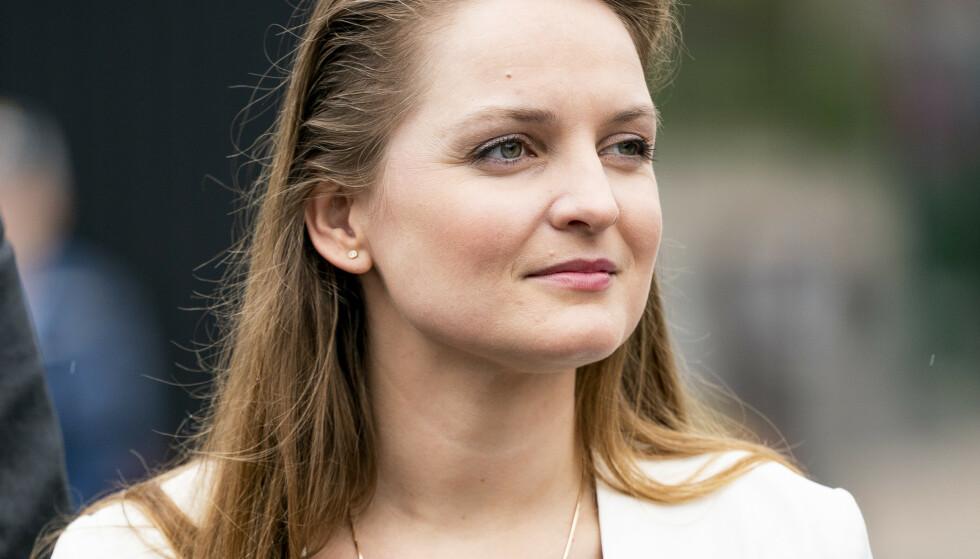 INGRID AUNE 1985-2019: Malviks ordfører Ingrid Aune gikk bort i båtulykken utenfor Namsos. Her fotografert i Trondheim 25. Juni 2019 i forbindelse med signering av byutviklingsavtalen. Foto: Ole Martin Wold / NTB Scanpix