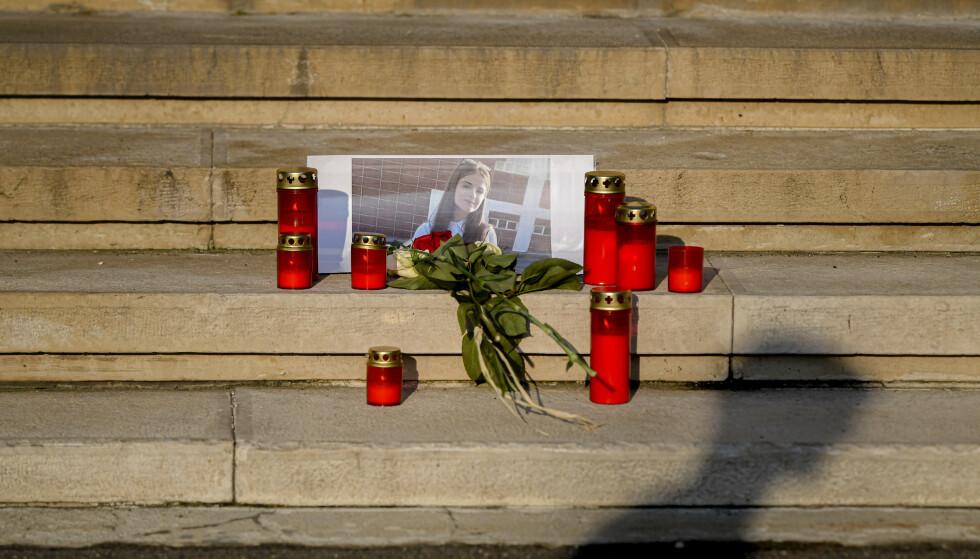 ANTAS DREPT: Den 15 år gamle jenta som varslet politiet om at hun var kidnappet, antas drept. Politiet har funnet det de antar er levningene etter tenåringen. Foto: AP Photo / Andreea Alexandru / NTB scanpix