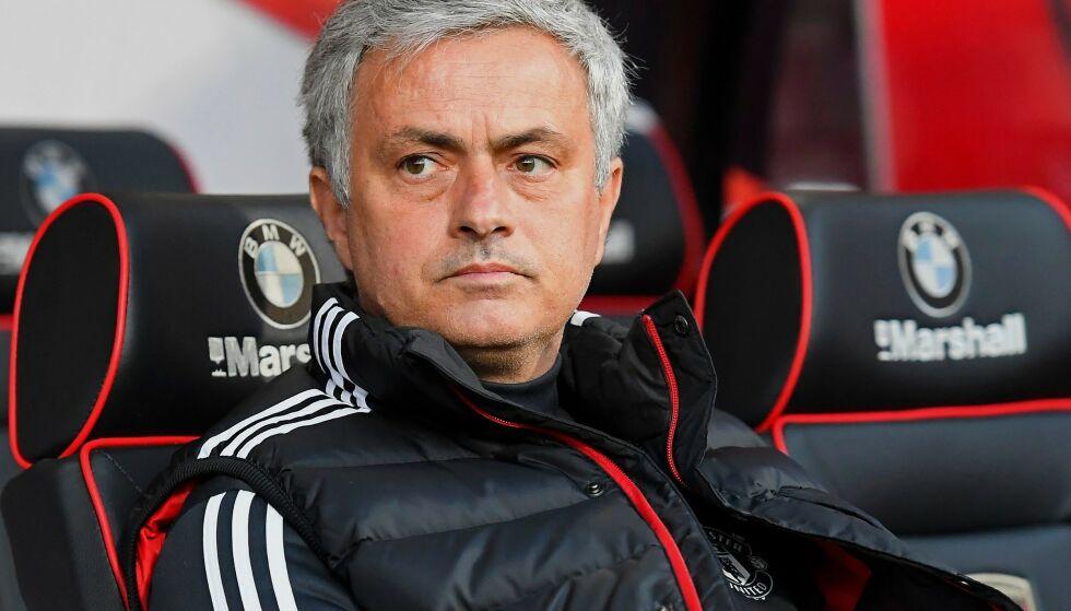 FIKK SPARKEN: José Mourinho slet mer og mer med å overbevise fansen i Manchester United, og fikk til slutt sparken av klubben. Foto: Tgsphoto / REX / NTB Scanpix