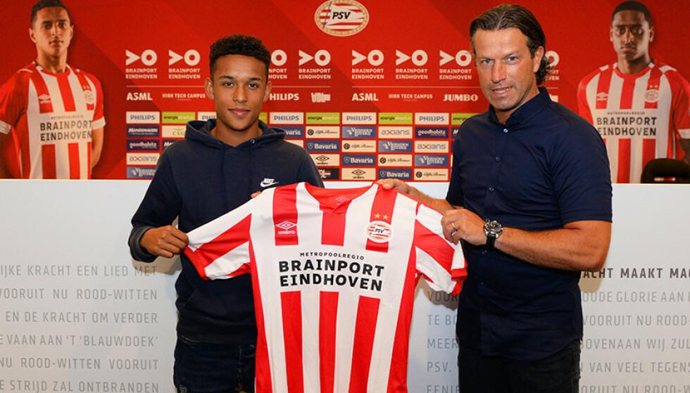OVERGANG: Fredrik Oppegård er klar for PSV. Foto: PSV.