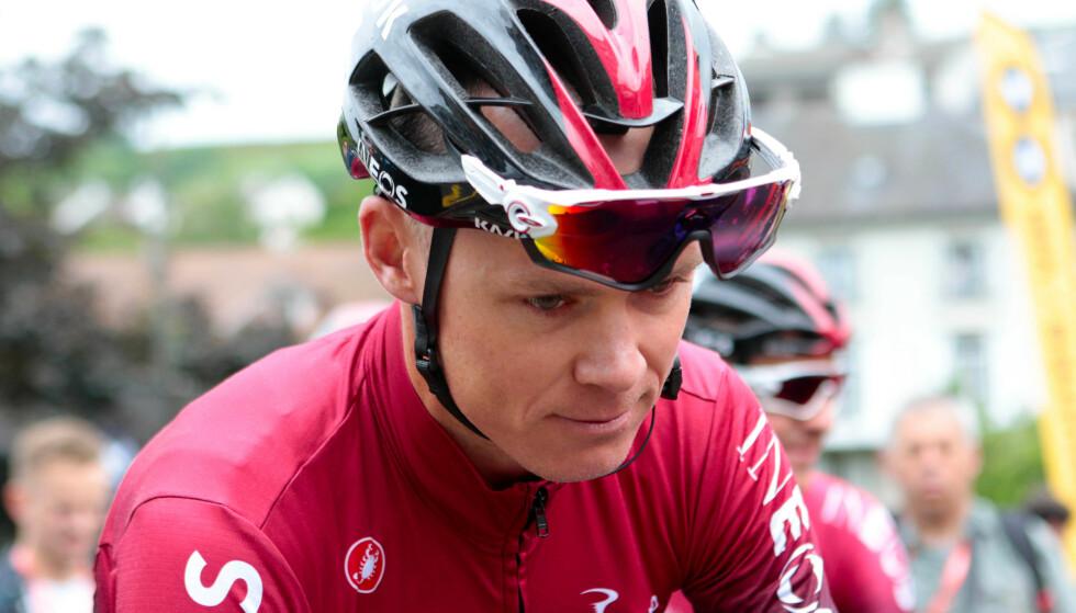 <strong>HAR SATT SEG MÅL:</strong> Chris Froome   håper å få med seg Tour de France i 2020. Foto: NTB Scanpix