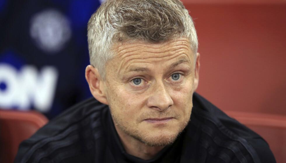FLERE SPØRSMÅLSTEGN: Ole Gunnar Solskjær og Manchester United serieåpner hjemme mot Chelsea søndag. Foto: NTB scanpix