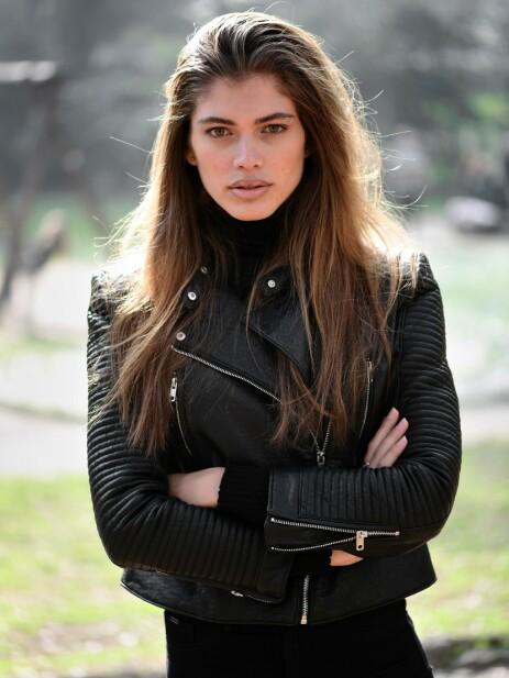 FØDT GUTT: Den 22 år gamle modellen er født gutt. Nå skriver hun historie sammen med Victoria's Secret. Foto: NTB Scanpix