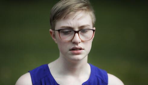 SNAKKER UT: Adelia Johnson hadde et kort forhold med Connor Betts og snakker nå ut om hans mørke tanker. Foto: AP Photo/John Minchillo