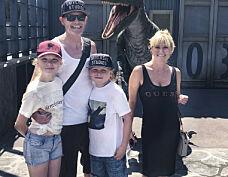 Dro på tre ukers sommerferie med eksen – for barna