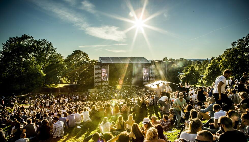 GRØNT: Øyafestivalen vil ikke bare at publikum skal ta miljøvennlige valg - nå foreslår de at artistene gjør det samme. Foto: Christian Roth Christensen