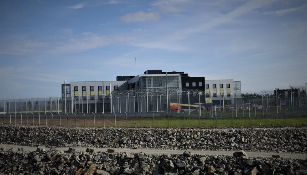 NORGES MEST MODERNE FENGSEL: Hovedbygget står på toppen av industriområdet på Blakstadheia. Foto: Jon Andreassen