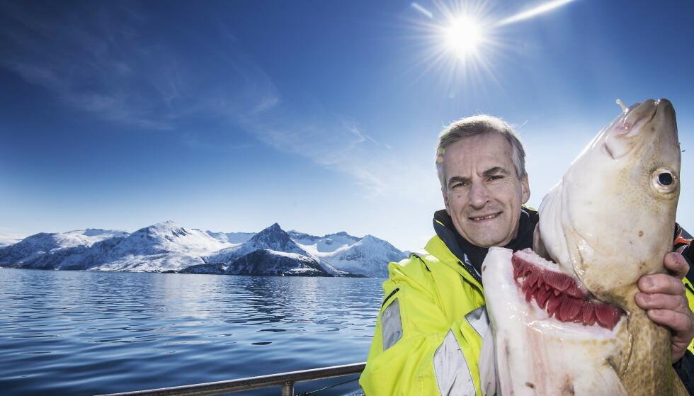 Må bygge entusiasme: Jonas Gahr Støre og resten av Ap har en måned på seg til å snu situasjonen i Nord-Norge. Foto: Hans Arne Vedlog