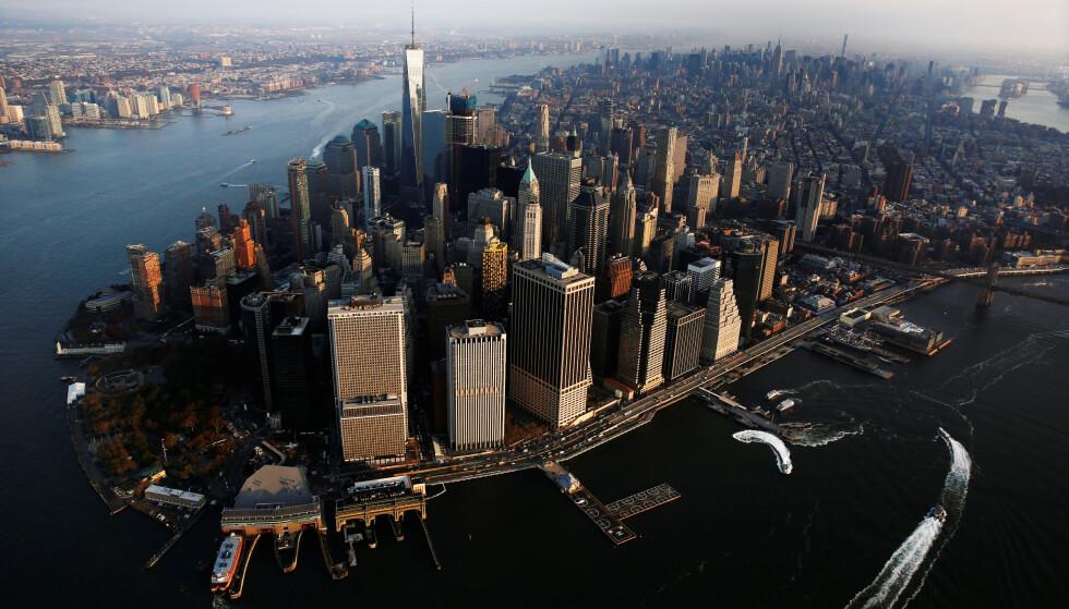 ADVARER: USAs liberale våpenlover og amerikanernes forkjærlighet for skytevåpen gjør det farlig å besøke landet, mener Amnesty International. Her fra Manhattan i New York. Foto: NTB Scanpix