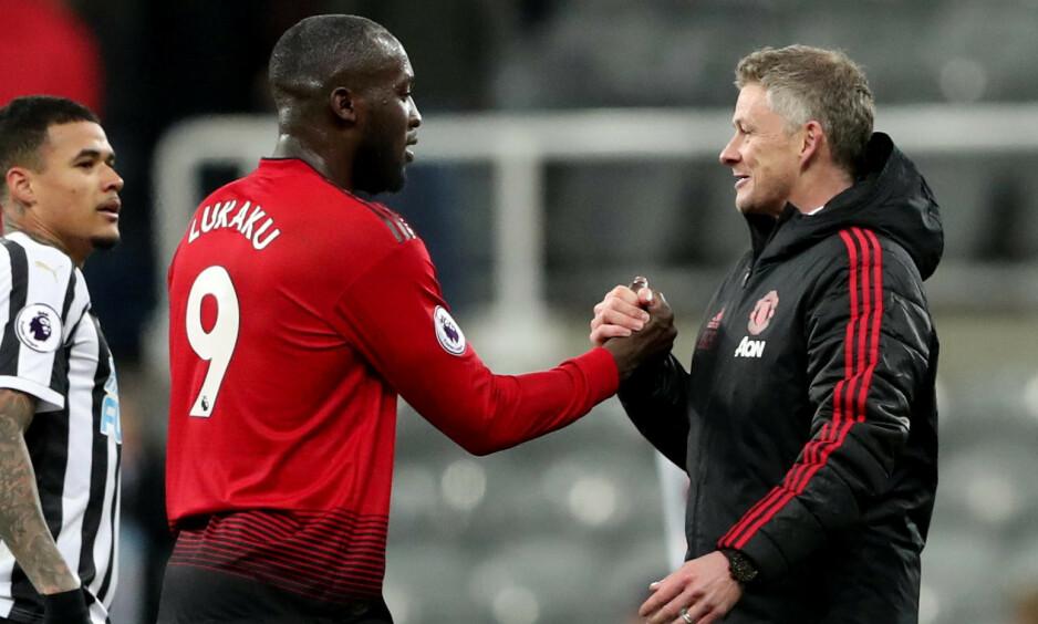 BORTE: Romelu Lukaku forlot Manchester United på Deadline Day. Foto: REUTERS / Scott Heppell / NTB Scanpix