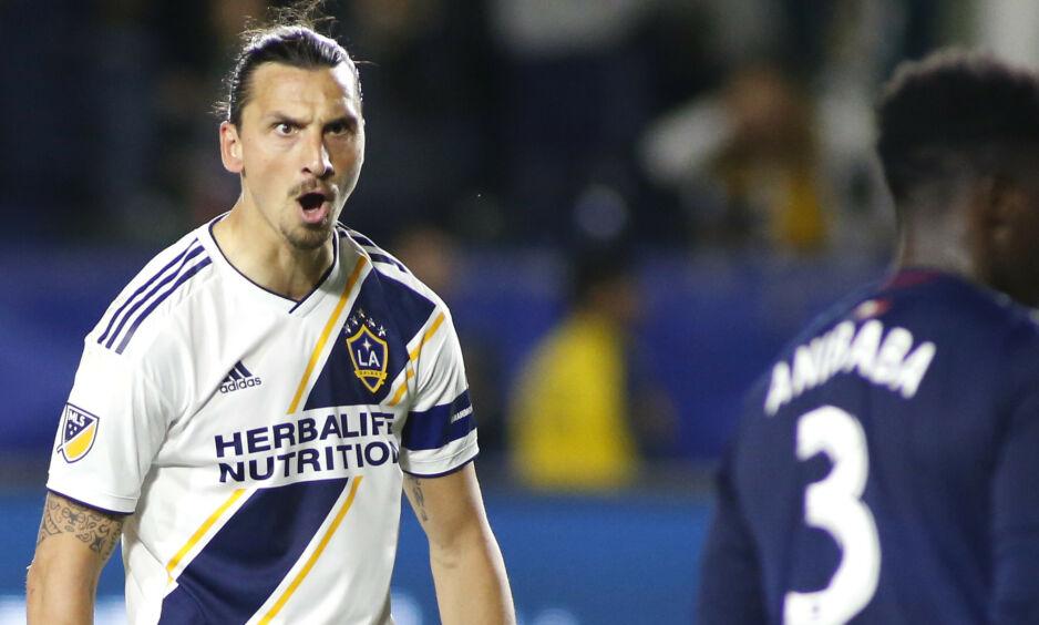KRITISK: Zlatan Ibrahimovic er ikke fornøyd med MLS-systemet slik det er i dag. Foto: Katherine LOTZE / GETTY IMAGES NORTH AMERICA / AFP / NTB Scanpix