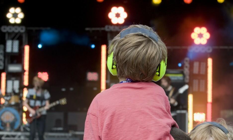 Festival: God stemning. Men har egentlig småbarna noe der å gjøre? Nei. Foto: Scanpix/Shutterstock