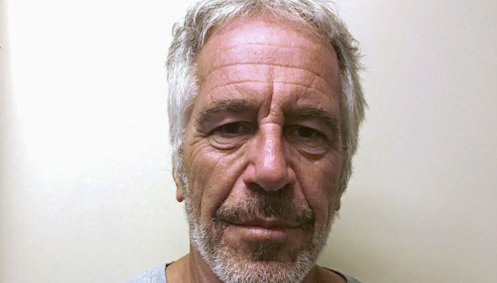 DØD: Jeffrey Epstein ble funnet død i fengsel lørdag. Foto: New York State Division of Criminal Justice Services/Handout/File Photo via REUTERS