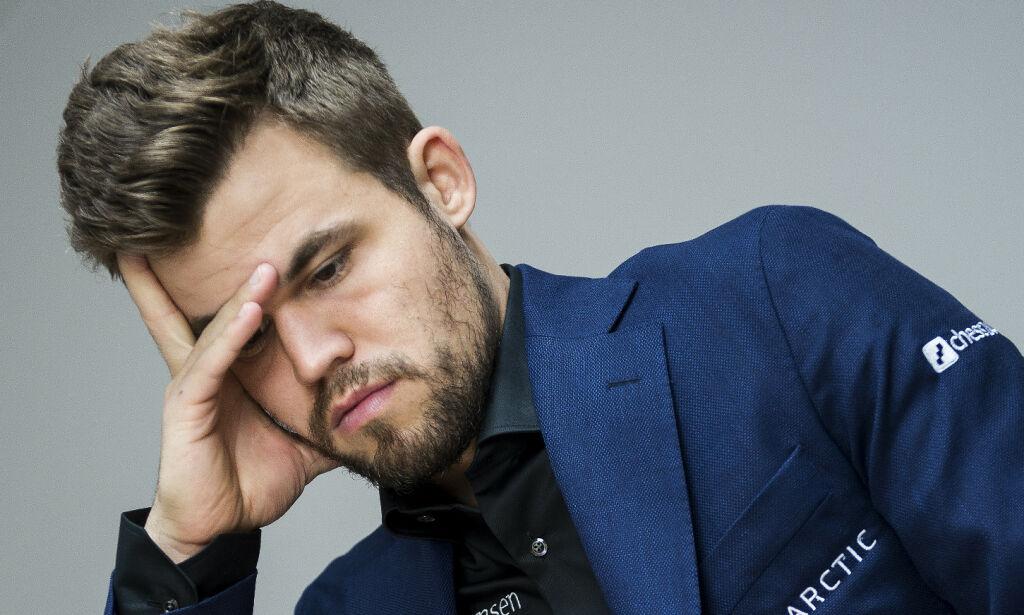 Carlsen: - Dårlig av meg
