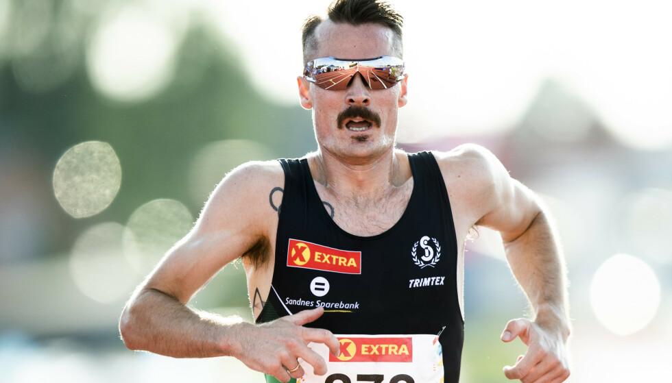 ANDREPLASS: Henrik Ingebrigtsen ble nummer to på 3000 meter i lag-EM søndag. Foto: Berit Roald / NTB scanpix
