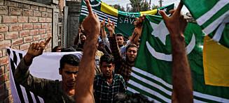 Aldri fred og ro i Kashmir