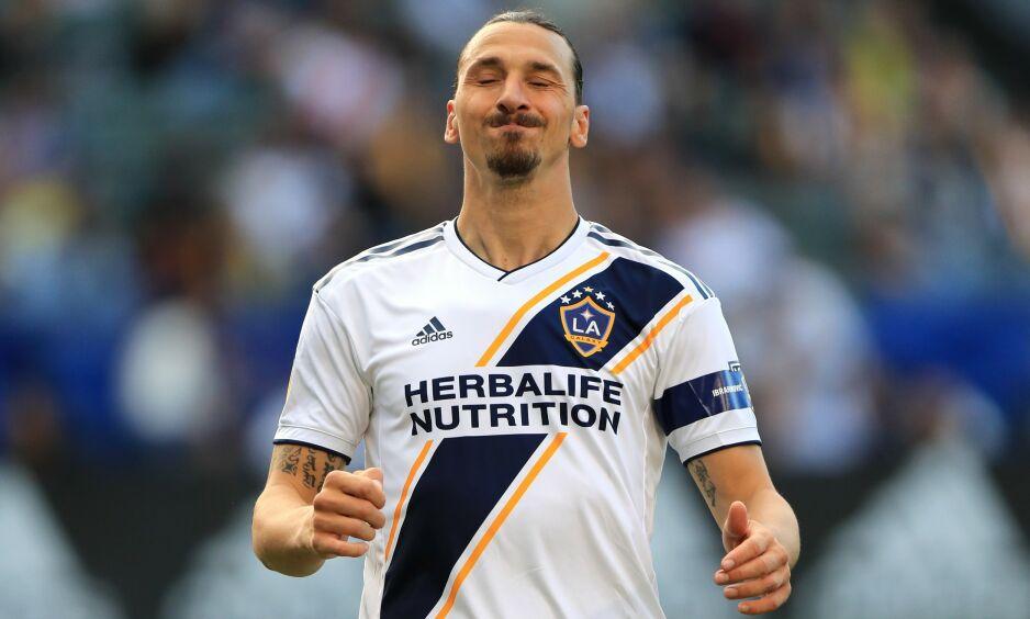 SLAKTES: Zlatan Ibrahimovic har irritert på seg en amerikansk fotballekspert. Foto: Sean M. Haffey / Getty Images / AFP / NTB Scanpix