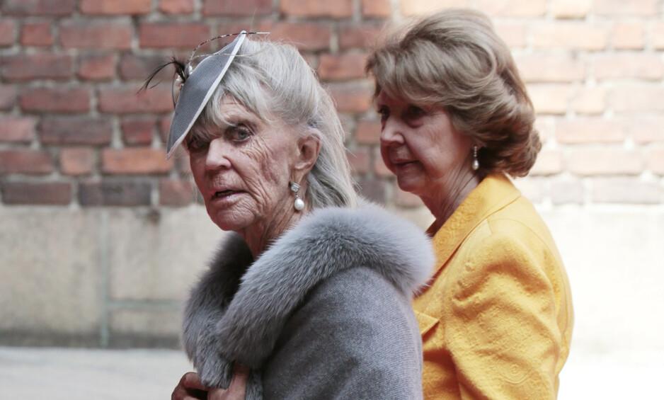 SJELDENT SYN: Det er ikke ofte at prinsesse Birgitta reiser til Sverige for å delta på kongelige tilstelninger. Det gjorde hun imidlertid da broren kong Carl Gustav fylte 70 år i 2016. Foto: NTB Scanpix