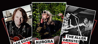 Hordalands 25 beste artister
