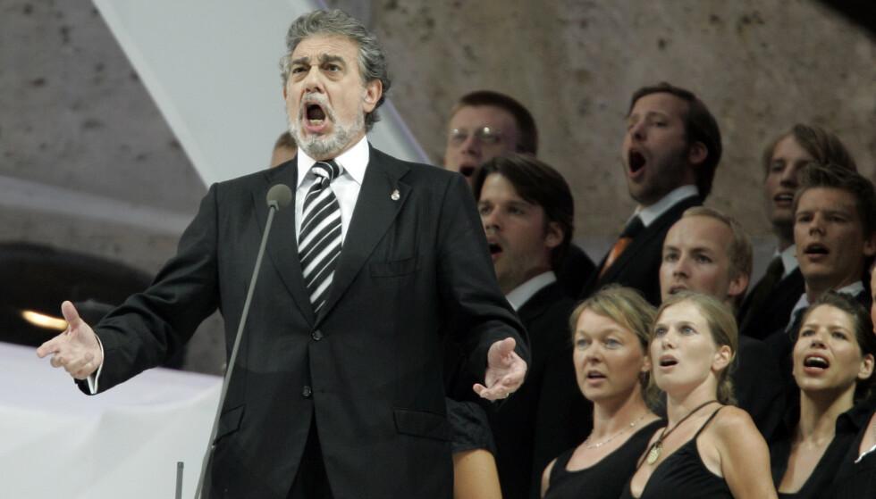PRESSET KVINNER: I flere tiår skal operasanger Plácido Domingo ha forsøkt å presse kvinner til seksuelle forhold. Foto: NTB Scanpix